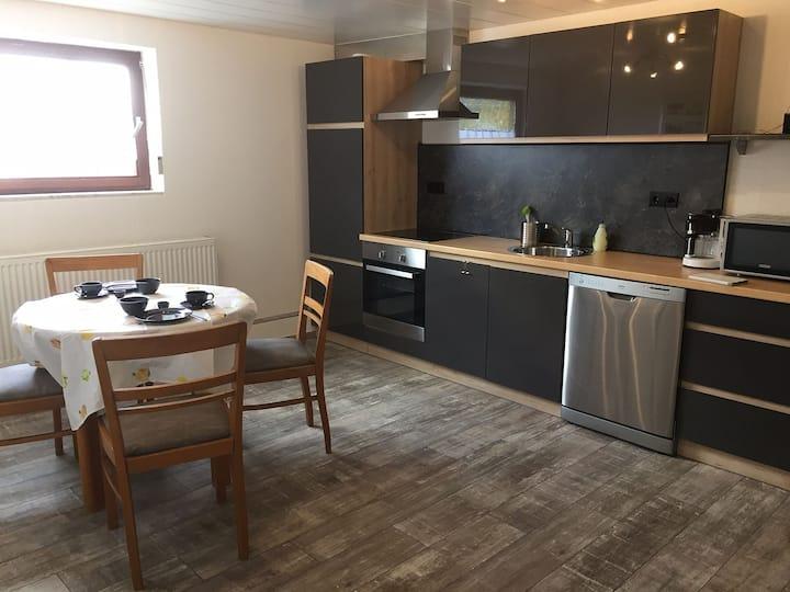 Haus Elvira, (Horb), Ferienappartment Trixi, 60qm mit 1 Wohn-/Schlafraum für max. 2 Personen