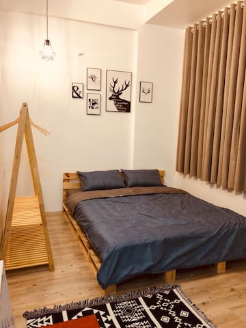 STAY hostel/ferry to Phu Quoc-300m/laundry/kitchen