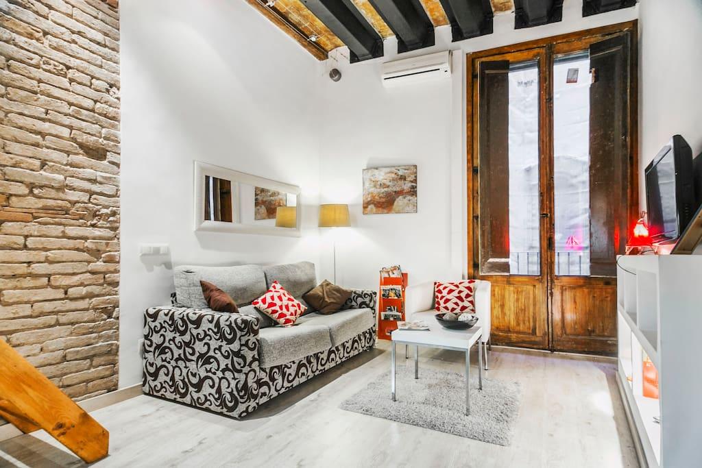 Duplex studio near picasso museum lofts en alquiler en - Duplex barcelona alquiler ...