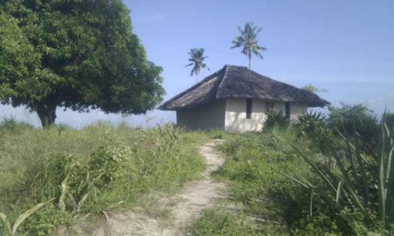 Traditional mud house near beach - Mossuril District - Hus