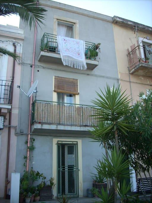 Casa tipica della riviera di Messina