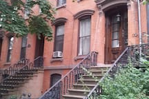Private apartment in a Historic Brownstone.