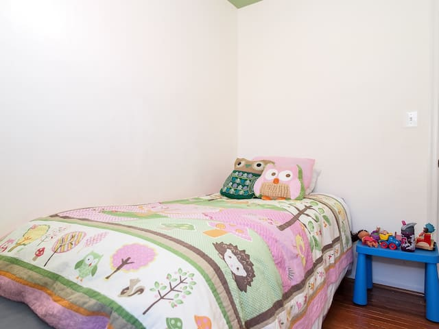 Second Bedroom with Twin Bed (trundle)
