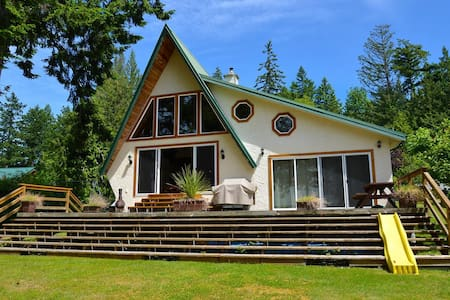 Ocean Front House on Lang Bay, PR - Powell River - House