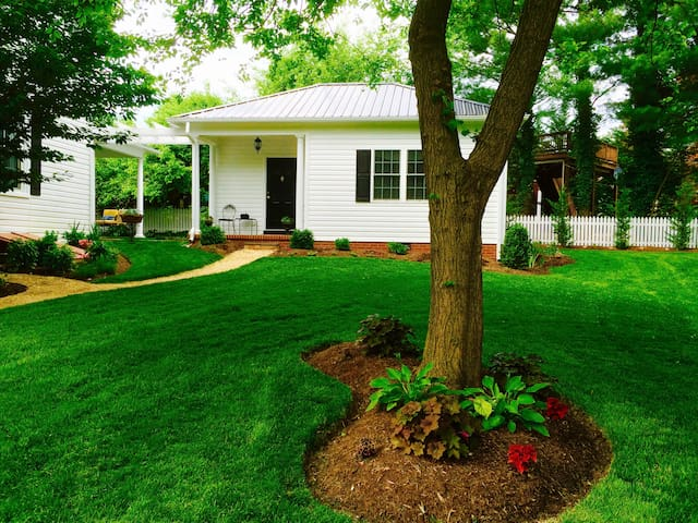 BoutiqueAir cottage, Staunton, VA; Near downtown! - Staunton - Lägenhet