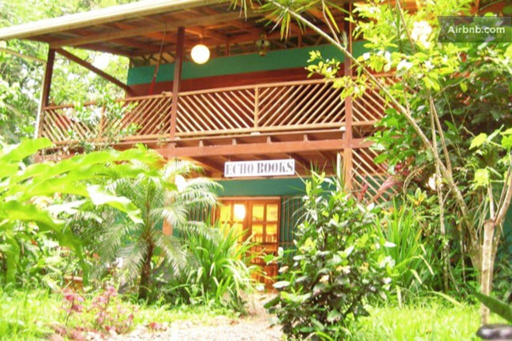 Casa caribe jungle beach house houses for rent in for Jungle house costa rica