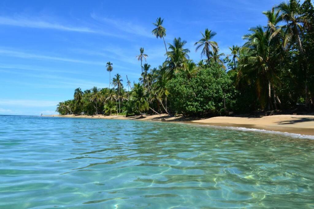 Beautiful Caribbean beaches just minutes away