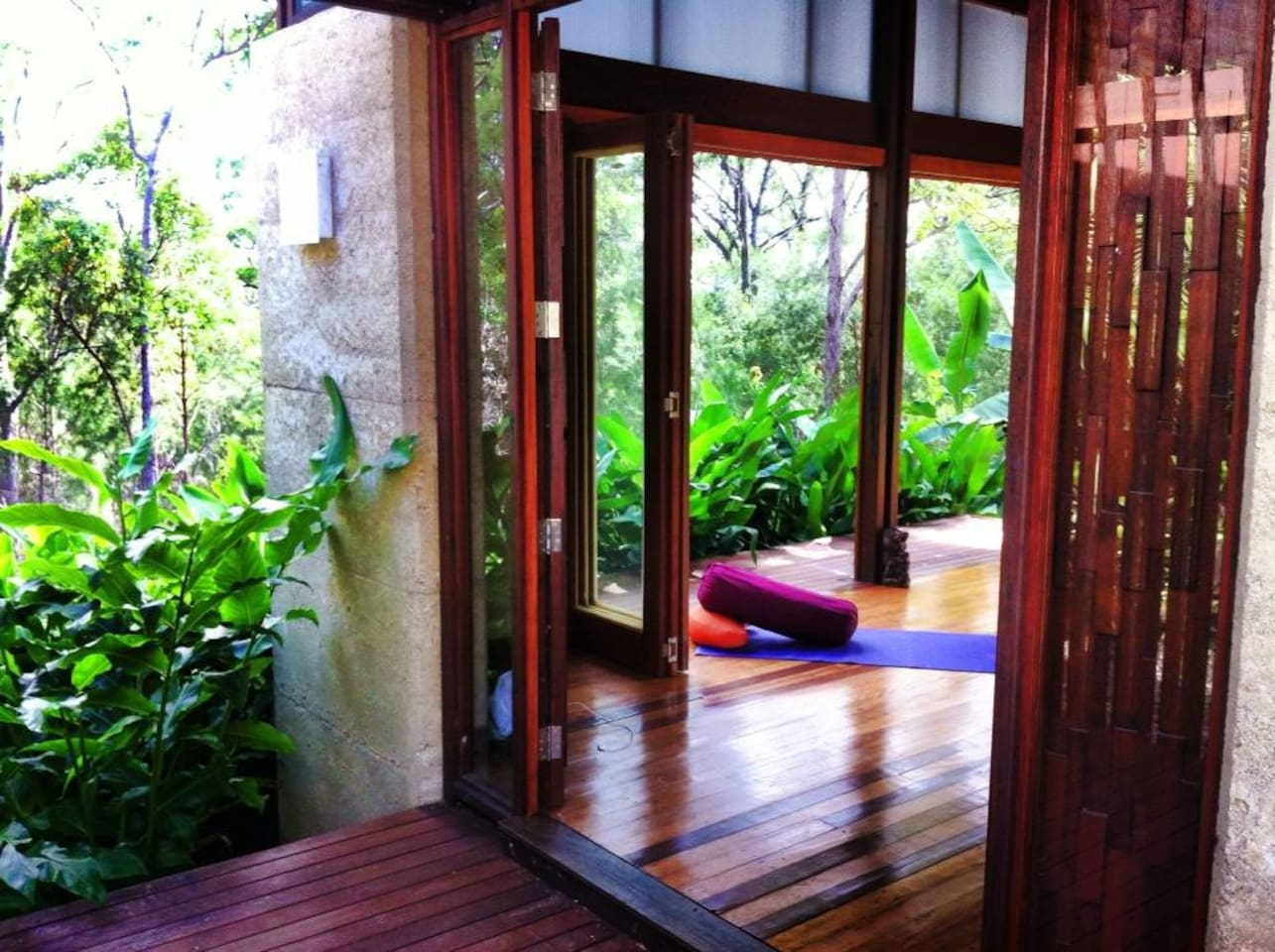 Onsite Fully equipped Yoga studio