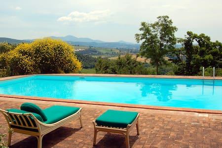 Villa antica con piscina e uliveto  - Amelia - Haus