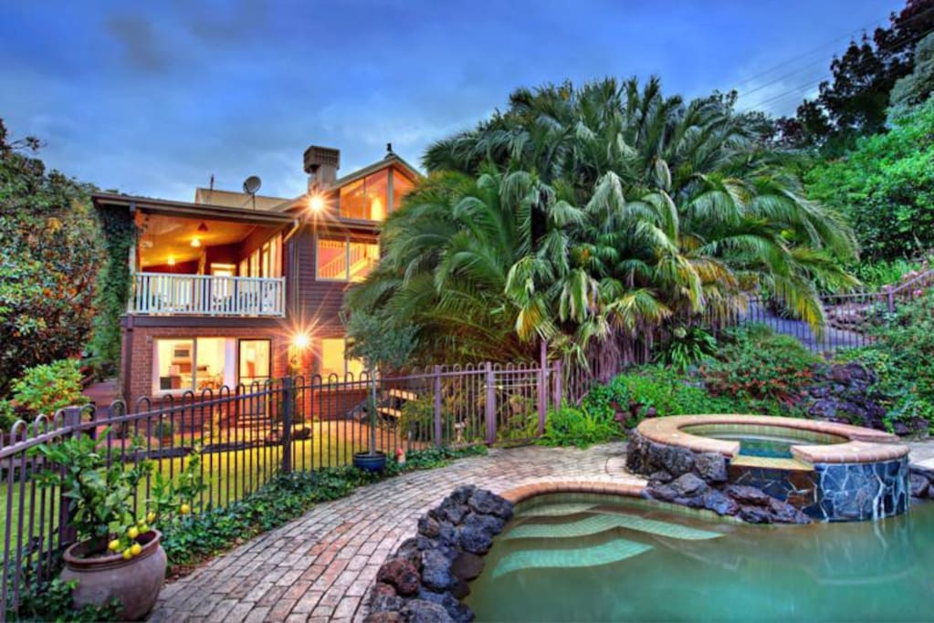 Resort Style pool and surrounds.