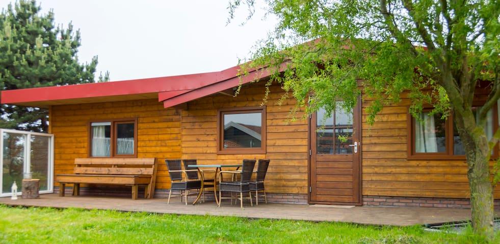 Riante vrijstaande blokhut - Egmond-Binnen - Blockhütte