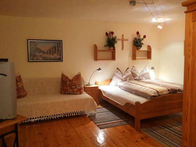 Double room 2 with sleeping sofa for 2 persons