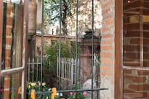 Vue de la fenêtre ouest