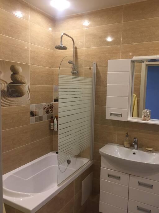 Ванная совмещённая с туалетом