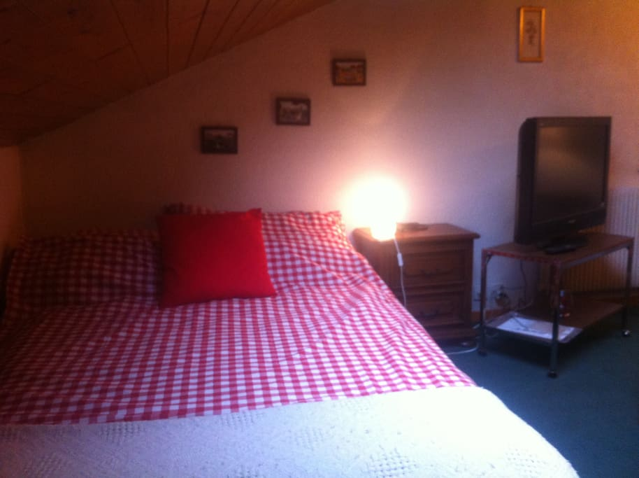Charmante chambre louer vernier bed and breakfasts for Chambre a louer geneve