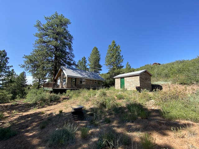 Refreshing One Bedroom Cabin and Bunkhouse in the Trees , Near Moab Utah