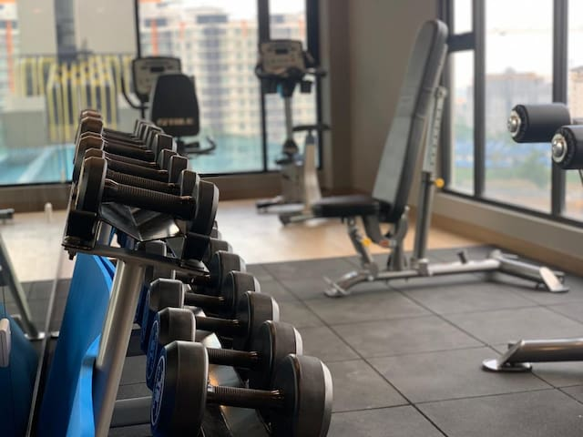 Gym Room at Level 10