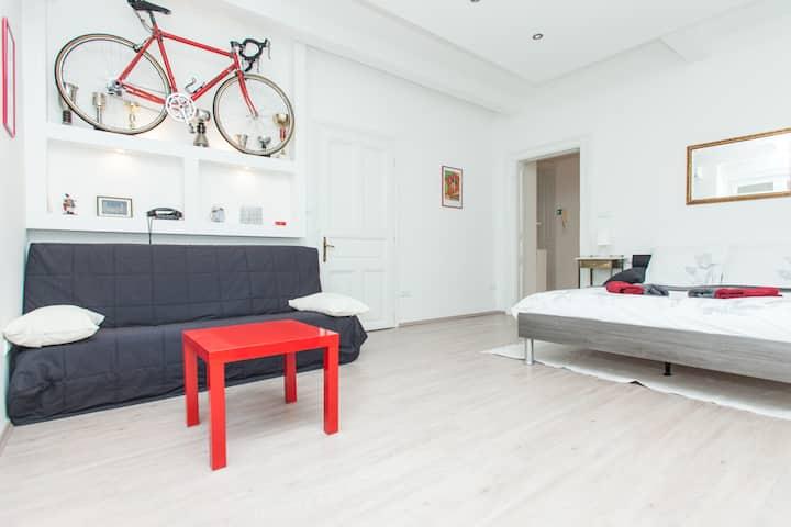 Red bike apt. 4*, bikes for free