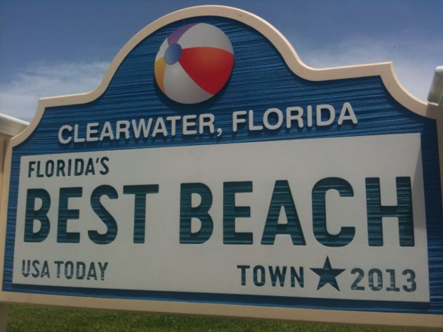Clearwater Beach, voted Florida's Best Beach 2013, USA Today