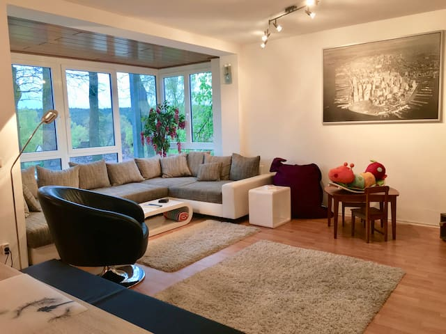 Large 3 bedroom apartment Schwabach near Nürnberg - Schwabach - Apartamento