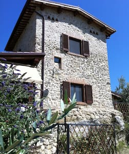Countryhouse Farfalletta Bianca  - Castelnuovo di Farfa - บ้าน