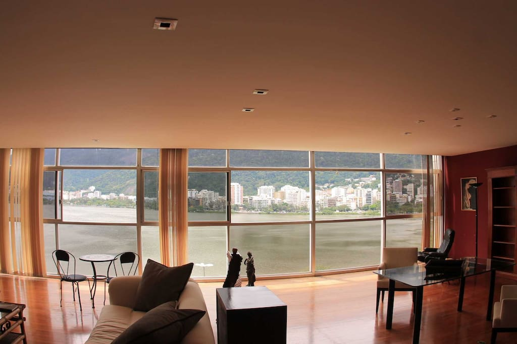The best livingroom's view in Rio