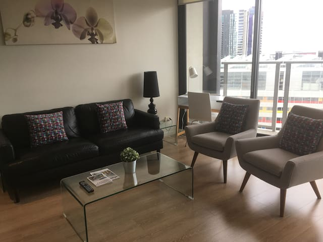Great Views from City Apartment - Free Parking