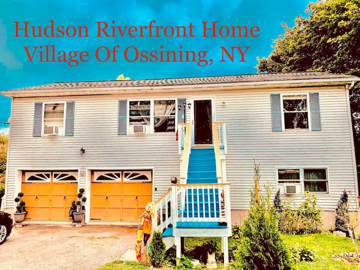 House on the hudson is a 3bed 2bath private kit/LR