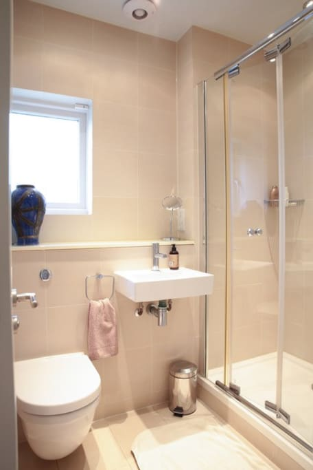 Private shower room ensuite to single bedroom