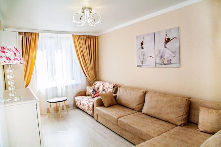 Комфортабельные апартаменты Zarechny