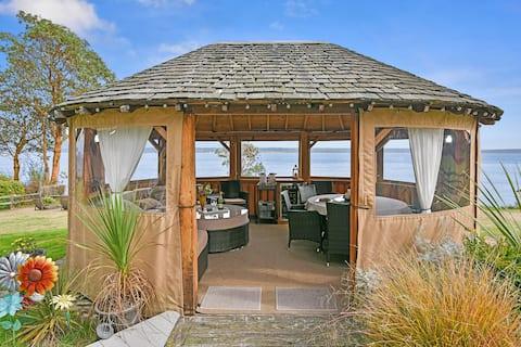 Casa de campo frente al mar y mirador