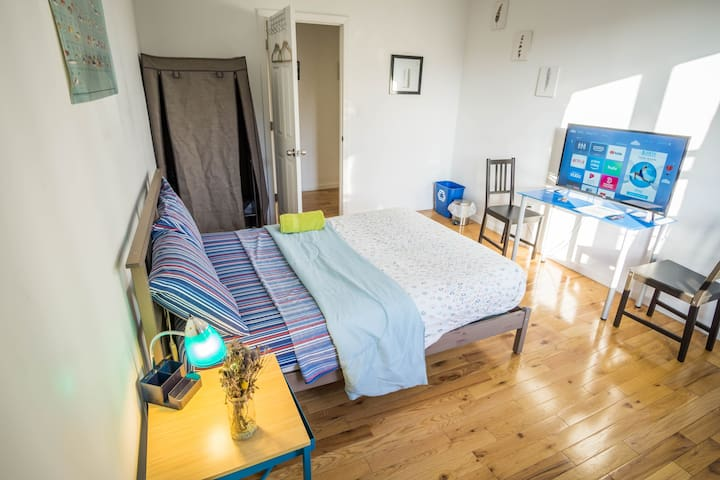 Large Room 20 min Ride to Times Sq!