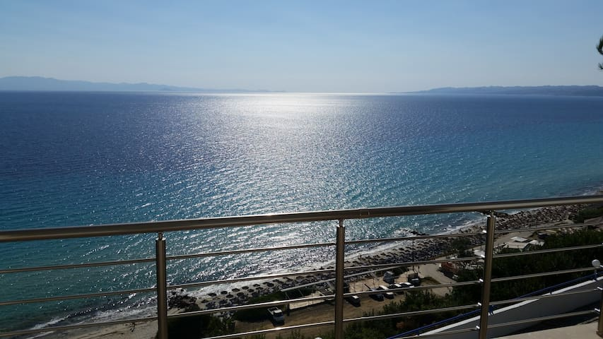 Breathtaking sea view in Afytos