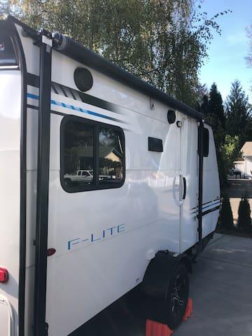 Little camper in town