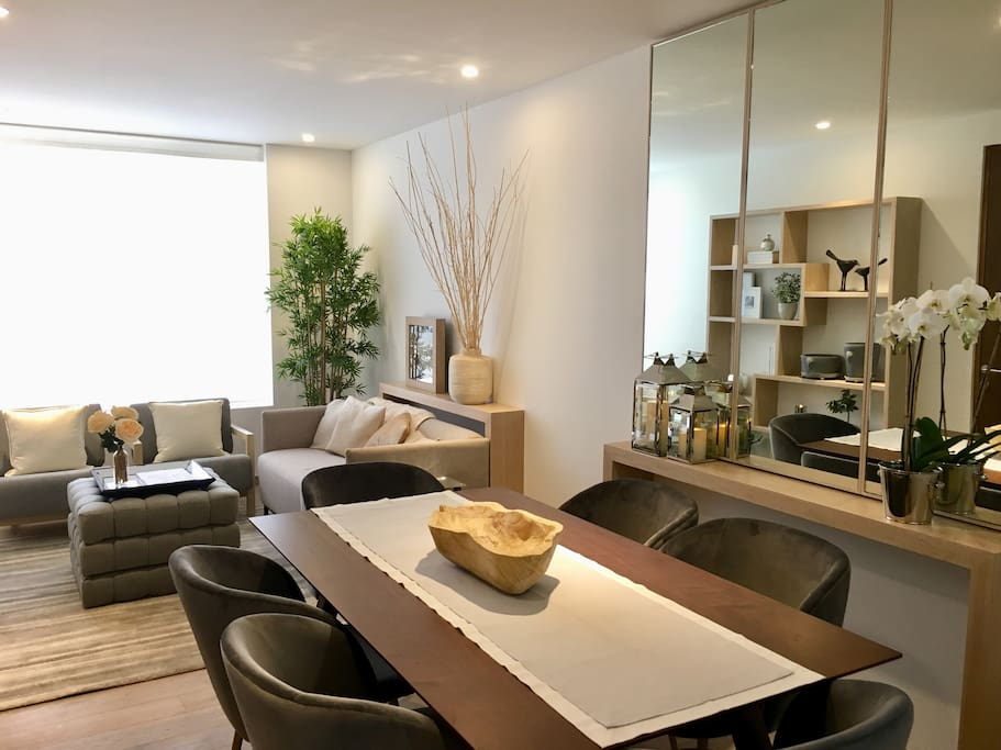 New Apartment In Polanco 1 Bedroom With Bathroom Flats