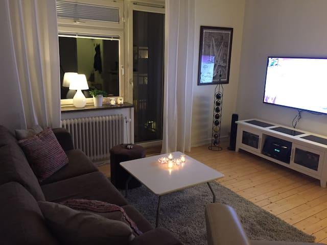 Mysig 2:a med balkong och parkering - Göteborg - Apartment