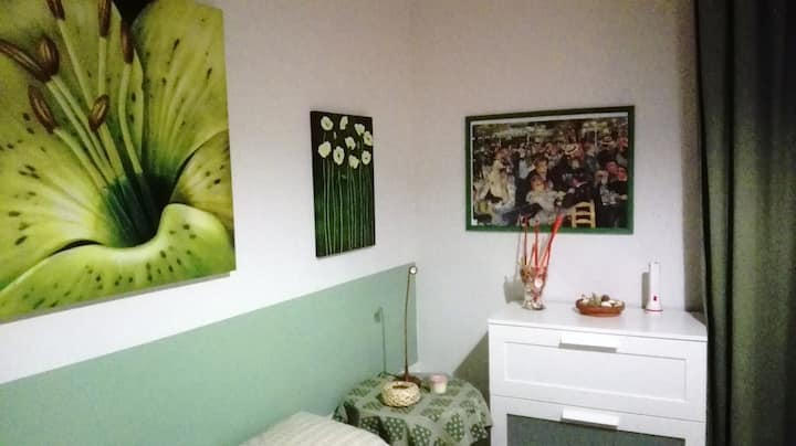Casa Bella Gela - Stanza Verde