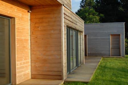 Maison d'architecte en bois vue mer - Pléneuf-Val-André - House