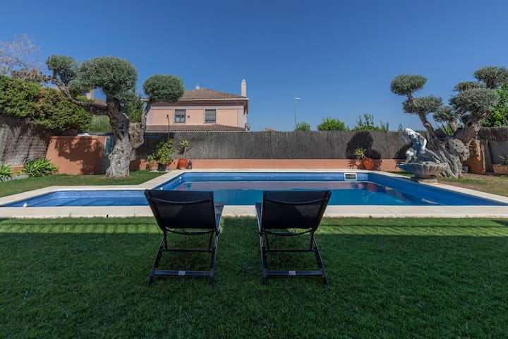 Dream Villa Pool 4BR-8p-Séville à vos pieds
