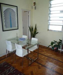Stylish flat in central Rio / Lapa.