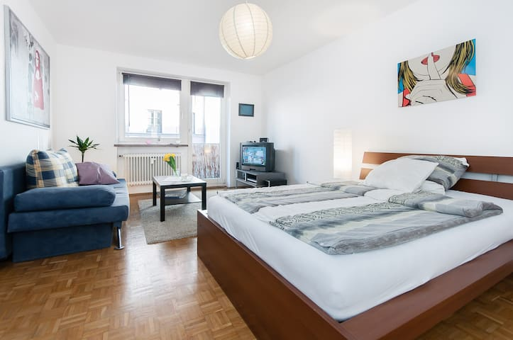 nice apt in Munich central - München - Appartement