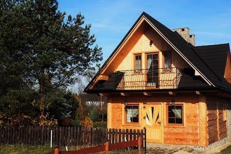 Domek w Miętustwie - Ciche - Gjestehus