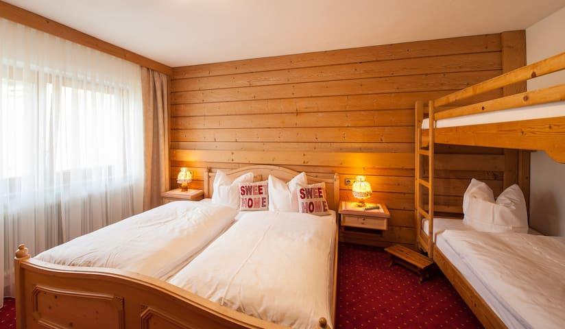 Alpenperle / Wohlfühl-Wohnung 50m² für 4 Personen