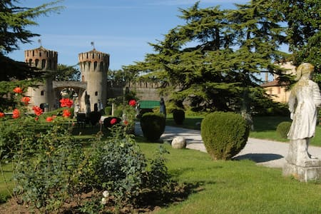 Openspace Studio in a 16th Century Castle with win - Roncade - Serviced apartment - 1