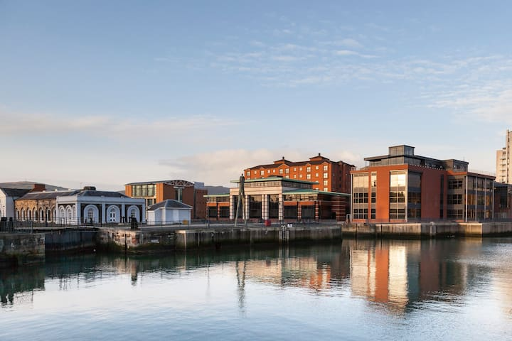 Located in Belfast's historic docklands