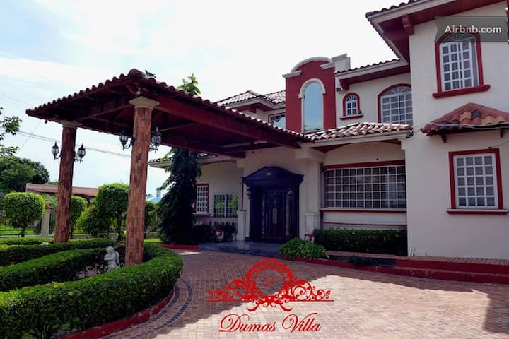 Dumas Villa - Double Room 1 - Panama City - Huvila