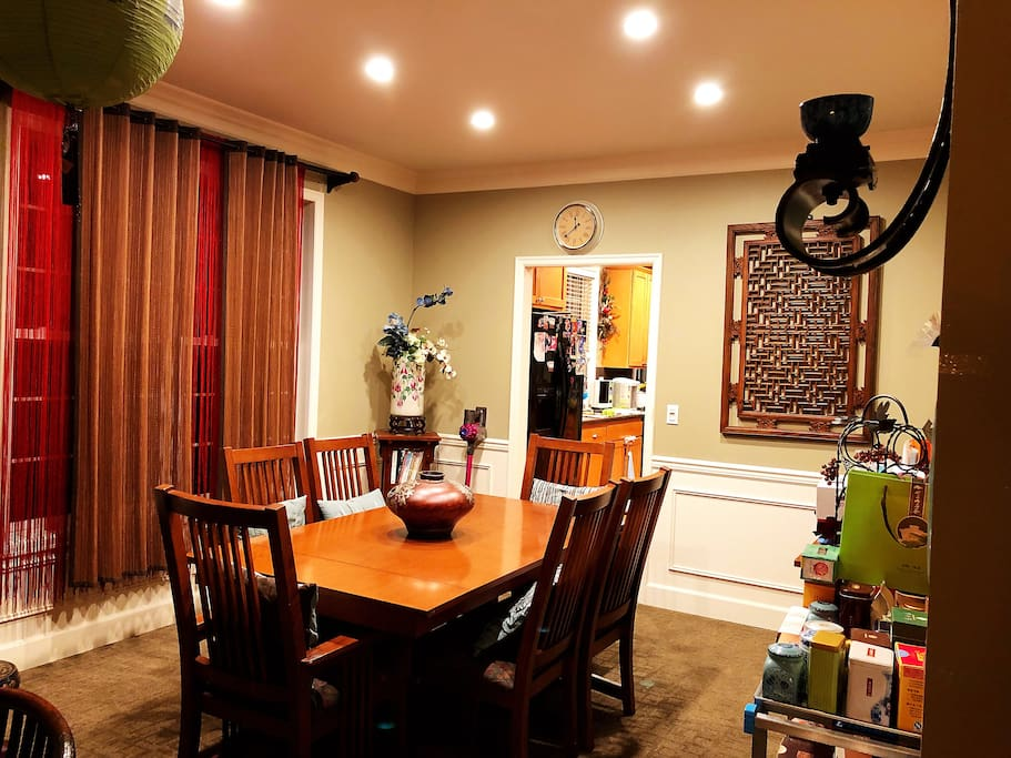 Dining room , Will enjoy your meal in here…;)