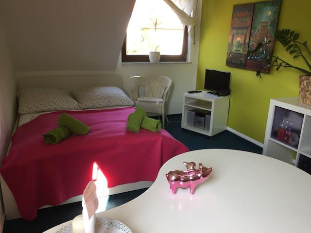 Ruhig, gemütlich, im grünen Zimmer! - 奧斯納布呂克(Osnabrück) - 獨棟