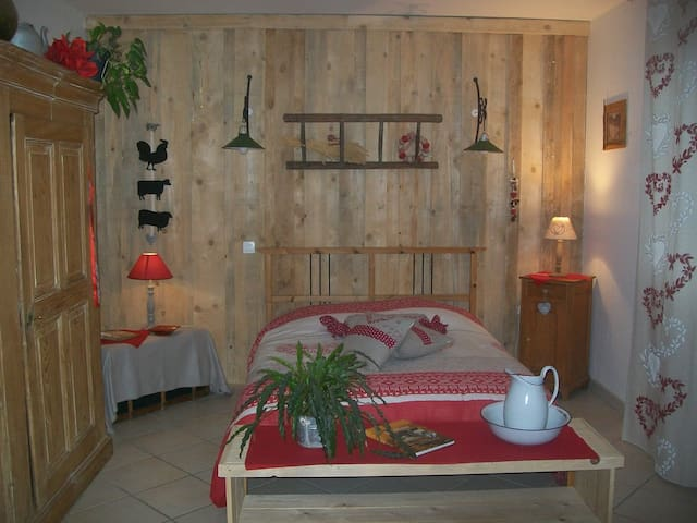 Big and rustic room - Rhinau - Casa