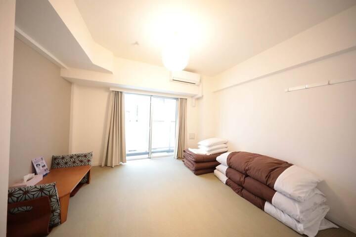 3C日本式26平Serviced Residencial Hotel #3人间